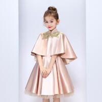 女童秋冬装儿童礼服万圣节服装公主裙走秀表演钢琴演出服