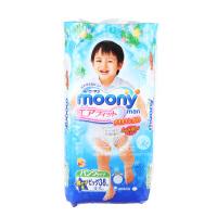 Moony 日本穆尼婴儿拉拉裤XL码38片 男宝宝专用 (海外购)