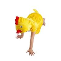 儿童动物演出服装小鸡鸭子兔子青蛙猫恐龙狐狸幼儿园表演小狗衣服