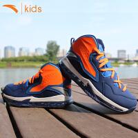 安踏儿童篮球鞋高帮减震 男童战靴中大童运动鞋子防滑31641110