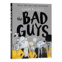 我是大坏蛋10 The Bad Guys in the Baddest Day Ever 英文原版 儿童英语初级章节桥梁