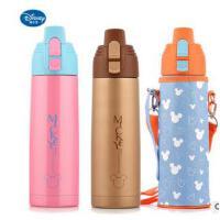 迪士尼儿童保温杯大容量直饮杯米奇保温瓶不锈钢学生户外运动水壶