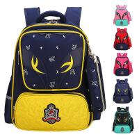 开学必备小学生书包 儿童书包1-3-6年级小学生书包男女孩双肩背包 开学礼物