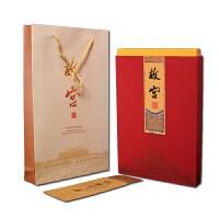 故宫全景图邮票册北京故宫特色礼物真丝彩绘文创收藏外事出国礼品