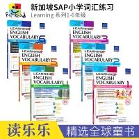【首页抢券300-100】SAP Learning Vocabulary 1-6 小学英语词汇一~六年级练习册 在线测试