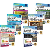 SAP Learning Vocabulary 1-6 小学英语词汇一~六年级练习册 在线测试版 7-12岁 新加坡教