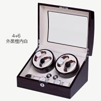 摇表器摇摆盒机械表自动上链盒手表上弦器晃表器旋转表盒 4+6 (+白)