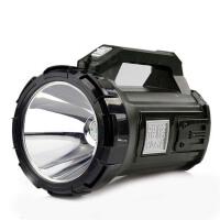 强光手电筒 充电式手提灯家用户外巡逻应急远射高亮探照灯