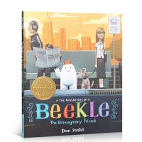 进口英文原版平装绘本 The Adventures of Beekle 小白找朋友 2015年凯迪克金奖 毕克勒的冒险