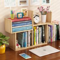 老睢坊 书架简易桌上置物架简约现代学生用宿舍小书柜儿童办公桌面收纳架可落地白色卧室客厅书架