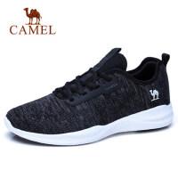 camel 骆驼春夏新款男鞋轻质系带运动鞋户外网布跑鞋休闲鞋