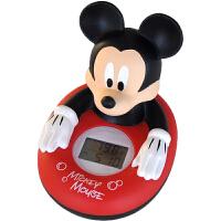 迪士尼 多功能电子水温计 米奇洗澡玩具(婴幼儿童宝宝沐浴戏水玩具 室内温度计 三色背光)SWL-626