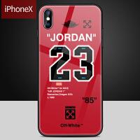 潮牌手机壳苹果X手机壳iphone xs max玻璃壳7plus手机壳个性创意7p潮牌iphone8