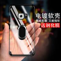 三星S7手机壳s7g9308保护套g93oo透明g930fd套子sm-g9300保护壳sm-g930