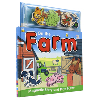 Magnetic Story and Play Scene On the Farm 磁贴故事书系列 农场动物 幼儿互动