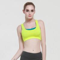 女运动文胸带胸垫瑜伽背心 健身防震内衣 支持礼品卡支付