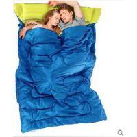 双人睡袋露营野营加厚保暖情侣信封式睡袋成人睡袋户外野营纯棉便携