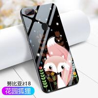 努比亚Z18手机壳z18mini卡通可爱ZI8保护z18mlnl外套NX6O6J硬壳NX6II玻璃N