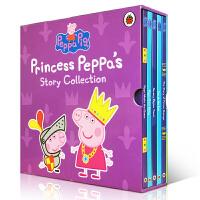 粉红猪小妹 Princess Peppa's story collection 小猪佩奇 5本盒装 精装大开本 儿童英