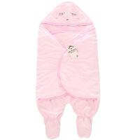 班杰威尔 婴儿用品 新生儿秋冬婴儿睡袋新款水晶绒睡袋外出两用宝宝睡袋 新生儿