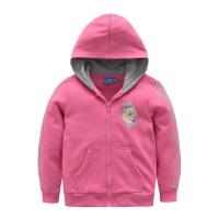 迪士尼童装女儿童可爱卡通印花圆领套头卫衣KFZ6F2OWKG7406