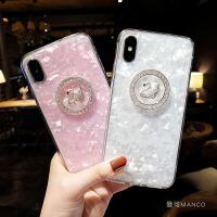 梦幻天鹅苹果x手机壳软硅胶套8plus潮牌7p新款欧美大气iphone6s女 6/6s 4.7寸 粉