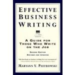 【预订】Effective Business Writing Strategies, Suggestions and