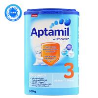 德国Aptamil爱他美婴幼儿配方奶粉3段(10-12个月 800g)三罐装