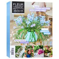英文版 比利时 FLEUR CREATIF 杂志 订阅2020年或2019年 E17 插花艺术 软装设计 花艺杂志
