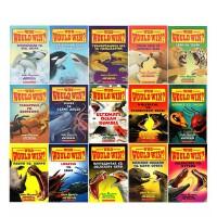 【猜猜谁会赢15册】学乐分级读物绘本 Scholastic Who Would Win 动物大比拼小学生课外读物STEM科普阅读 英文原版 绿山墙