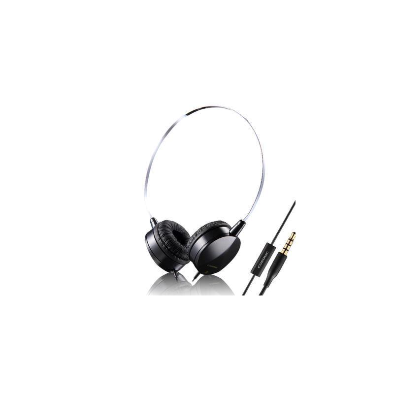 时尚便携线控头戴式耳机 多彩配色 清晰通透 立体声运动防汗 耳机 带麦 智能兼容 佩戴舒适