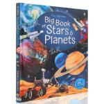 英文原版绘本 The Usborne Big Book of Stars and Planets 恒星与行星 太空科普