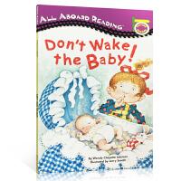 顺丰发货 All Aboard Rearding Don't Wake the Baby! 汪培�E推荐英文原版书单阶段 别把宝宝吵醒了 送音频