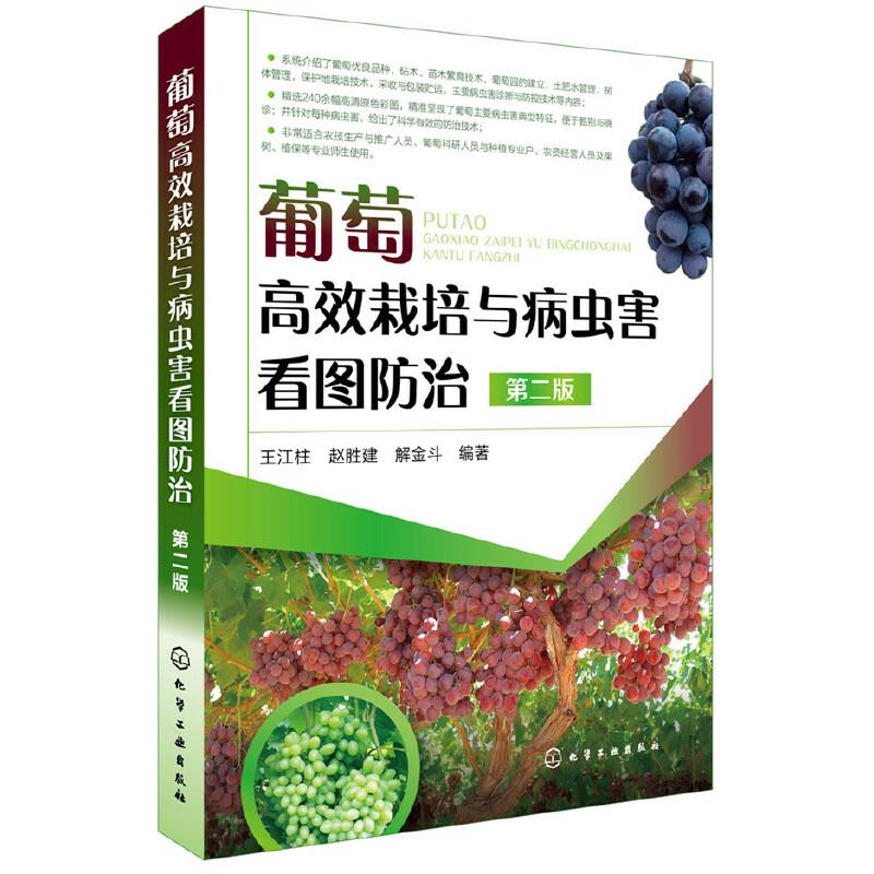 葡萄高效栽培与病虫害看图防治(第二版) 葡萄栽培领域的又一本经典图书。