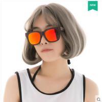 大方百搭精美防紫外线眼镜墨镜女时尚方框男士太阳镜偏光眼镜