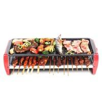 烧烤炉家用电烤炉烤肉机电烤盘铁板烧烤肉锅