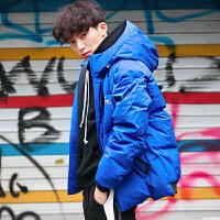 【1件包邮价499元】唐狮冬装新款羽绒服男短款连帽加厚休闲韩版潮流青年上衣外套