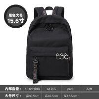 纯色书包女韩版 原宿ulzzang校园高中学生街拍背包大容量双肩包