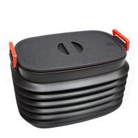 汽车后备箱储物箱 车载后备箱收纳箱 多功能折叠置物箱收纳盒