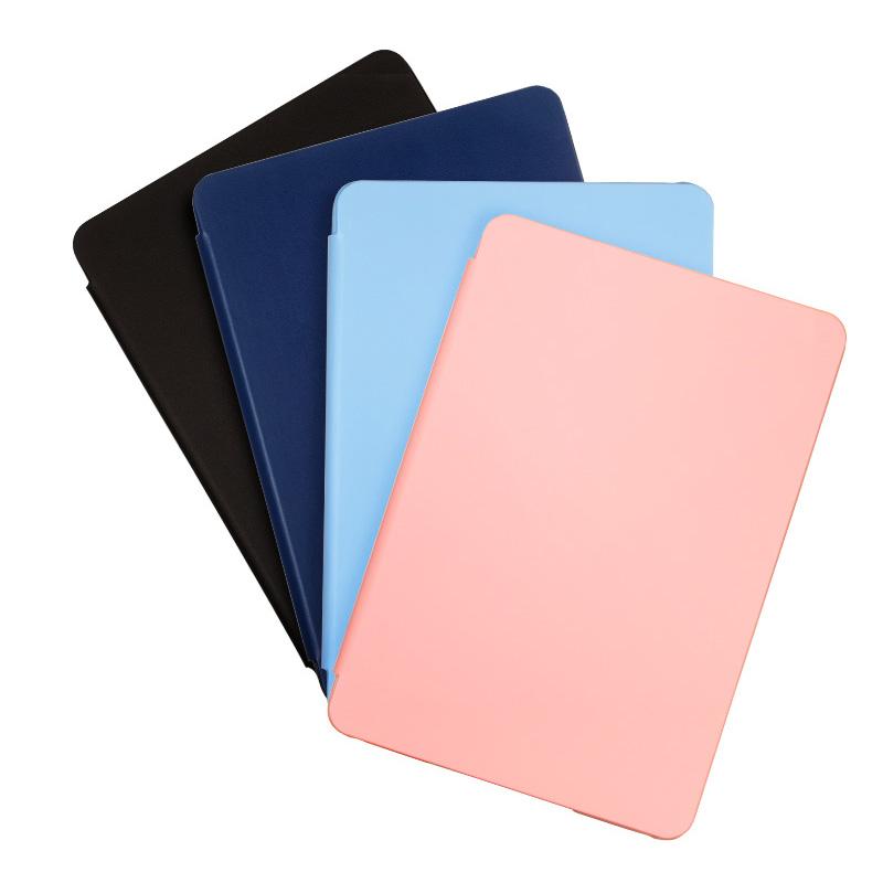 亚马逊官方NuPro kindle Paperwhite4 纯色保护套粉蓝黑色壳皮套