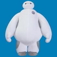 迪士尼Disney 超能陆战队 正版大白毛绒玩具白胖子布娃娃玩偶 1#(约35cm)
