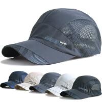帽子男士夏天韩版潮户外遮阳帽防晒太阳帽棒球帽男速干透气运动帽