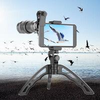 镜头 手机镜头 APEXEL手机望远镜头变焦调焦镜头手机长焦高清外置摄像头演唱会镜头手机iPhone