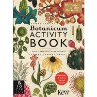 英文原版 植物博物馆活动书(欢迎来到博物馆系列)手绘科普读物 Botanicum Activity Book (Welc