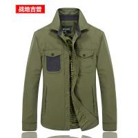 战地吉普AFS JEEP男装夹克 秋装薄款衬衫领夹克衫男 男士户外防风防水休闲外套