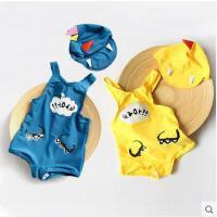 恐龙韩版儿童连体泳装度假泳装温泉泳衣男童女童游泳衣宝宝婴幼儿可礼品卡支付