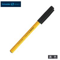 德国进口施耐德(Schneider)圆珠笔经典黄杆0.5mm黑色(单支销售)505F原子笔学生考试顺滑防水办公圆珠笔油