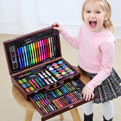 儿童绘画套装学习用品画笔画画工具小学生水彩笔美术文具六一礼物