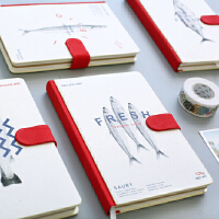 硬面32K加厚手账本旅行日记本A5笔记本创意简约学生文具