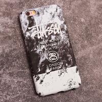 苹果6splus手机壳潮牌男个性创意iphone8全包边复古磨砂7plus硬壳